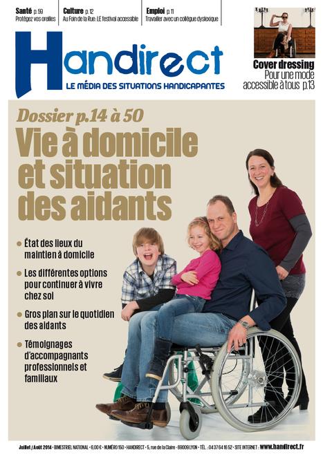 Vivre ensemble, maintien à domicile et situation des aidants | Handirect - Le média des situations handicapantes | Scoop.it