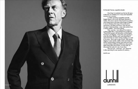 Dunhill Launches Revolutionary Luxury Augmented Reality - SpeedLux | Augmented Reality News and Trends | Scoop.it