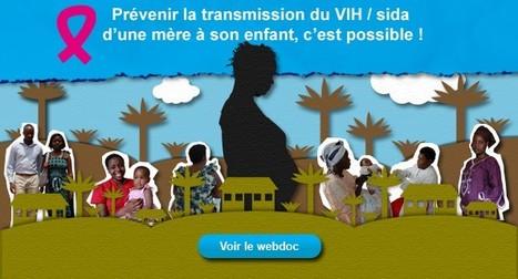 Prévenir la transmission du VIH/Sida d'une mère à son enfant   UNICEF   Interactive & Immersive Journalism   Scoop.it