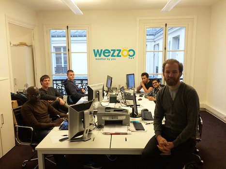 #Crowdsourcing : Wezzoo, l'application de Météo Collaborative lève 500 000 euros - Maddyness | Weather By You | Scoop.it
