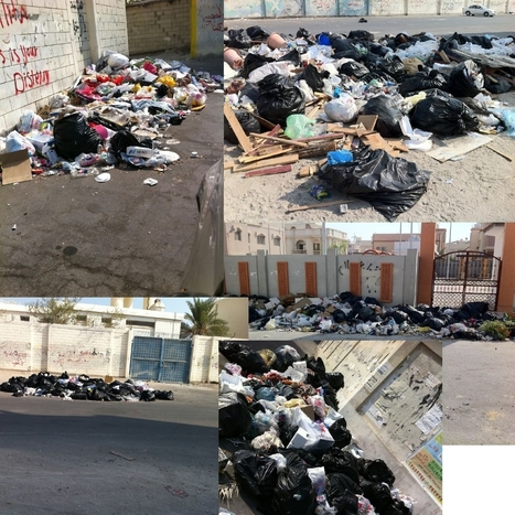 Al-Khalifa try to use Garbage as a bargaining tool to preserve their Power! - Sanabis village | Human Rights and the Will to be free | Scoop.it