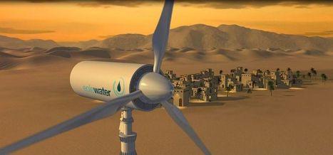 Le vent, bientôt puits d'eau potable   Shabba's news   Scoop.it
