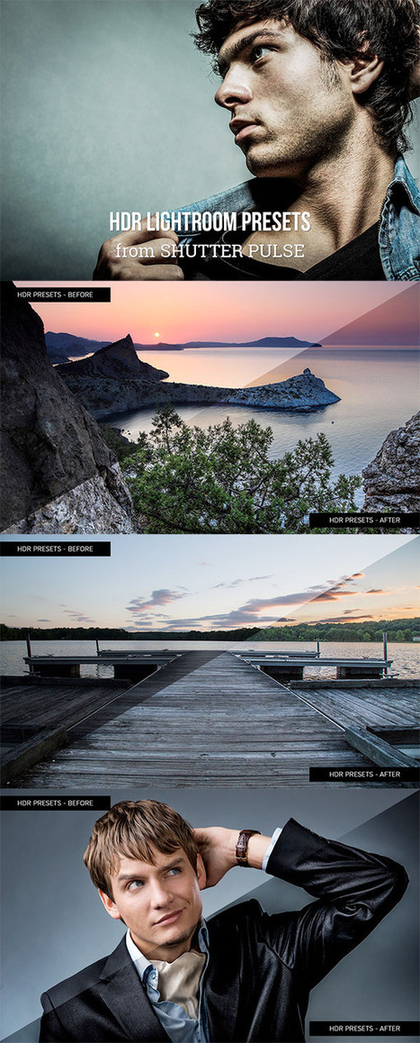 40 HDR Lightroom Presets for Premium Members | Photography | Scoop.it
