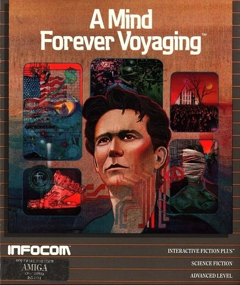 A Mind Forever Voyaging: The Lost and Found Art of the Text Adventture | Interactive Fiction and Digital Game-based Learning | Scoop.it