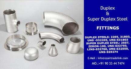 Duplex &amp; Super Duplex Steel Pipe Fittings<br/>&hellip; | Gaurav Steel | Scoop.it