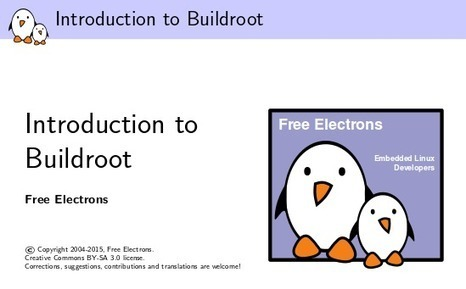 Free Electrons Releases Buildroot Training Materials | Embedded Systems News | Scoop.it