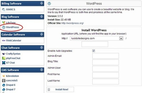 How to Build a Website With WordPress | Web Design & SEO | Scoop.it