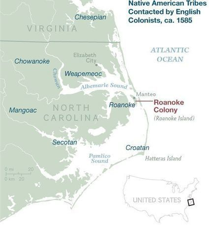 Have We Found the Lost Colony of Roanoke Island? | US History | Scoop.it