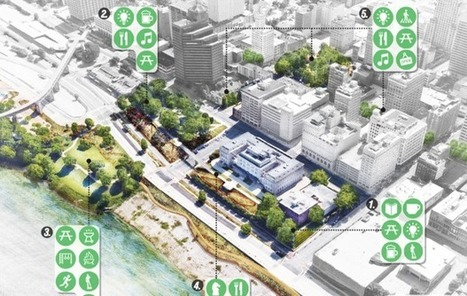 """Reimagining the CIVIC COMMONS""... in Akron, Memphis, Chicago, and Detroit. 