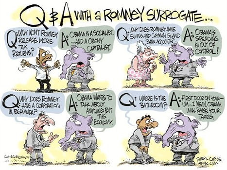 Q & A with a Romney Surrogate | Election by Actual (Not Fictional) People | Scoop.it
