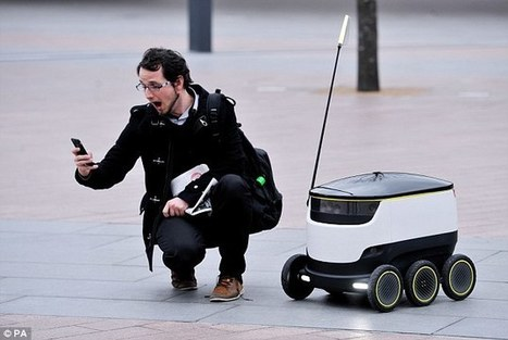Self-driving 'ground drones' hit the London street | Living-in-London Today | Scoop.it