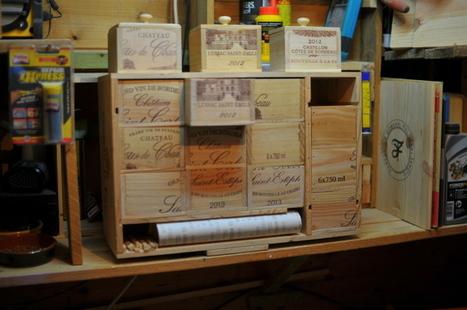 [Coup de ♥] Création de boîtes de rangement par Louisledeboucheur sur le #CDB | Best of coin des bricoleurs | Scoop.it