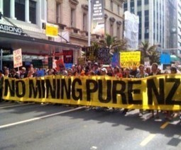 Anti-mining protests spread throughout New Zealand | Sustain Our Earth | Scoop.it