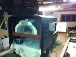 Pizza Pilgrims FB oven in a Piaggio Ape | Vespa Stories | Scoop.it