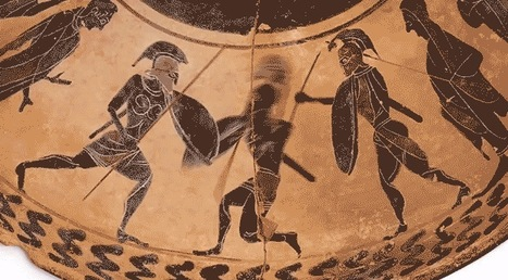 Animating the Battles and Mythology of Greek Vases | Langues anciennes | Scoop.it