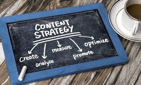 Plantilla para la definición de una estrategia de contenidos | science de l'info | Scoop.it