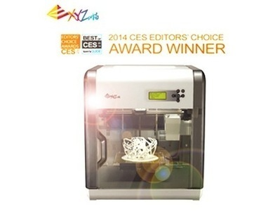 XYZprinting unveils 2014 line of 3D printers | 3d printing and cnc machine and 5 axis milling | Scoop.it