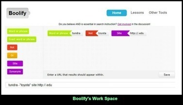 Boolify, Web 2.0 teaching tool & search engine that develops 21st Century skills | Information Literacy_What is it? | Scoop.it