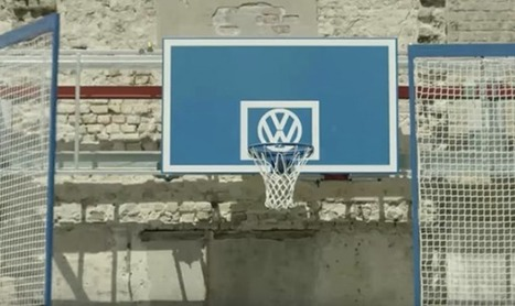 Volkswagen transforme un parking en terrain de basket | Pub, média et digital sport | Scoop.it