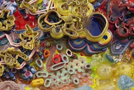 3D Printed Artworks Layer Plastic Instead Of Paint [Pics] - PSFK | Algorithm | Scoop.it