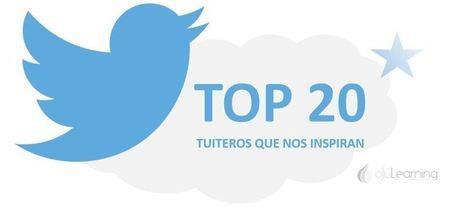 El Top 20 de tuiteros que nos inspiran | ojulearning.es | APRENDIZAJE | Scoop.it
