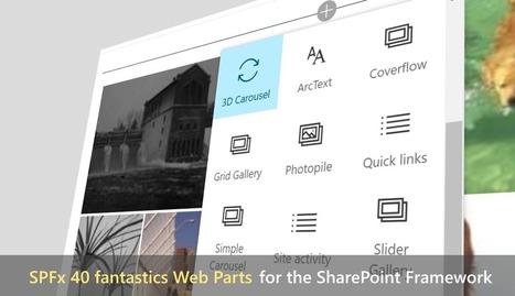 SPFx 40 Fantastics Web Parts | Sharepoint 2013 FR - OFFICE 365 - YAMMER | Scoop.it
