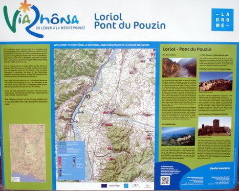 L'Ardèche par un beau soleil - Loriol/Le Pouzin | ViaRhôna à vélo, du Léman à la Méditérranée | Scoop.it