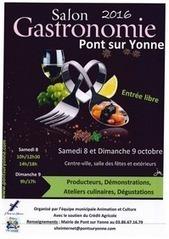 Pont-sur-Yonneles 8 et 9 octobre - 2e Salon de la Gastronomie | Actualités culturelles et éducatives | Scoop.it
