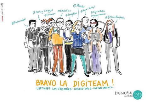 Best of digital du Digiworld Summit 2013 - 100% web by Kaliop | Digiworld by IDATE - Institute | Scoop.it