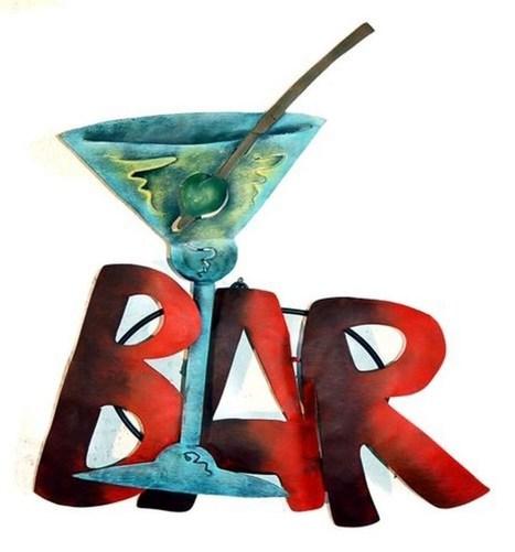 Martini Bar Sign   Martini Bar Sign   Scoop.it