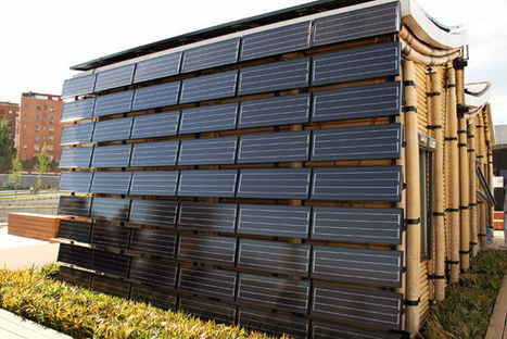 bamboo house at solar decathlon | Green ideas and Sustainable Building Practices | Scoop.it