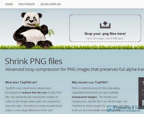 TinyPNG : un service en ligne gratuit pour réduire la taille des images PNG | Moodle and Web 2.0 | Scoop.it