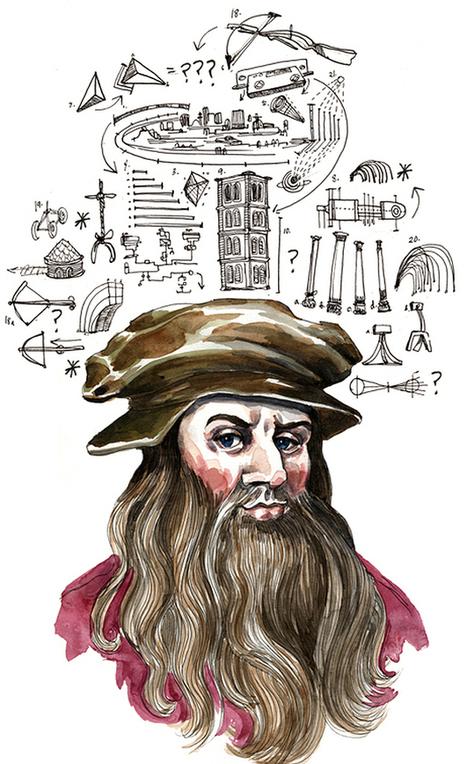 ο Leonardo da Vinci είχε το δικό του notebook γεμάτο λίστες | omnia mea mecum fero | Scoop.it