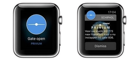 What happened when Schiphol Airport armed passengers with an Apple Watch | Tourism Social Media | Scoop.it