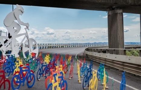Vélos sur autoroute | Actualité sur le déplacement cyclable | Scoop.it