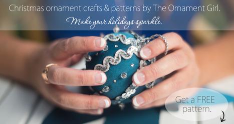 25 Christmas Ornaments to Make | 25 Handmade Ornament Tutorials | Christmas Decorations | Scoop.it