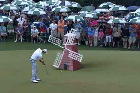 Masters 2014: Watch as Augusta's hallowed turf is turned into 'crazy golf course' in hilarious video | Turf Maintenance | Scoop.it