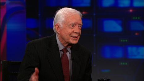 Daily Show: Jimmy Carter Pt. 1 | Values Based Leadership | Scoop.it