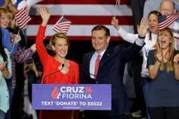 Ted Cruz taps Carly Fiorina to serve as running mate | United States Politics | Scoop.it