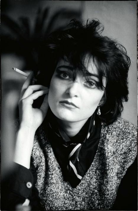 PHOTO: Siouxsie Sioux - Siouxsie and the Banshees - 1 jan 1979 - Cafe Brussels, Belgium, by Philippe Carly | SongsSmiths | Scoop.it