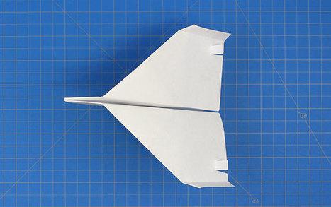 Fold N Fly ✈ Lock-Bottom Plane   Paper Planes   Scoop.it