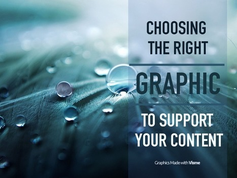 Choosing the right Graphic to support your content | It's Your Business | Scoop.it