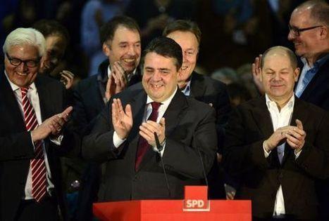 Las bases socialdemócratas alemanas votan a favor de la gran coalición | La Tribuna | Scoop.it