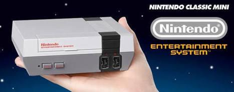 Nintendo lanzará mini réplica de NES con 30 juegos preinstalados   Descargas Juegos y Peliculas   Scoop.it