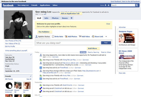 Facebook Changes Through the Years: Social Media Revolution | Social Media Article Sharing | Scoop.it