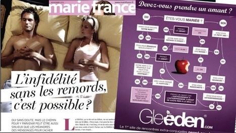 Infidélité: article et pub dans Marie France | DocPresseESJ | Scoop.it