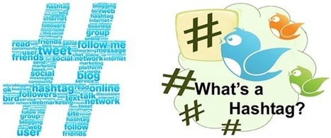 Beginners Guide To Using #Hashtags on Twitter, Facebook | TEFL & Ed Tech | Scoop.it