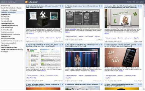 Slick RSS: an [old] newsreader Chrome extension   RSS Circus : veille stratégique, intelligence économique, curation, publication, Web 2.0   Scoop.it