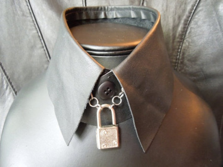 Black Leather Collar | Let's Get Sex Positive | Scoop.it