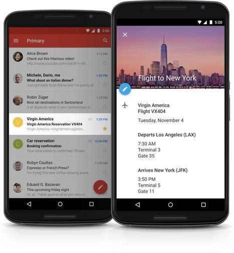 Google lit vos mails pour remplir automatiquement votre agenda | Technologies. | Scoop.it